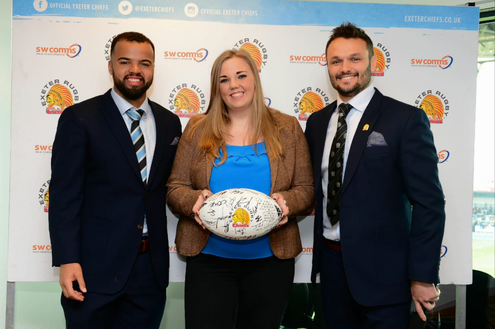 Evans Transport Exeter Chiefs Match Ball